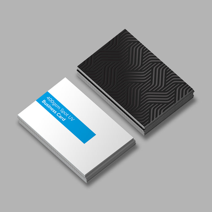 Paddle Print Spot UV Business Cards