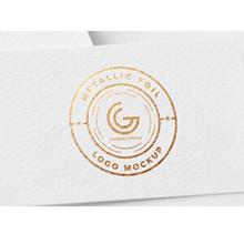 Load image into Gallery viewer, Paddle Print Foil Effect Business Cards