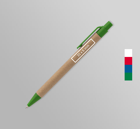 Eco Friendly Promotional Pens by Paddle Print