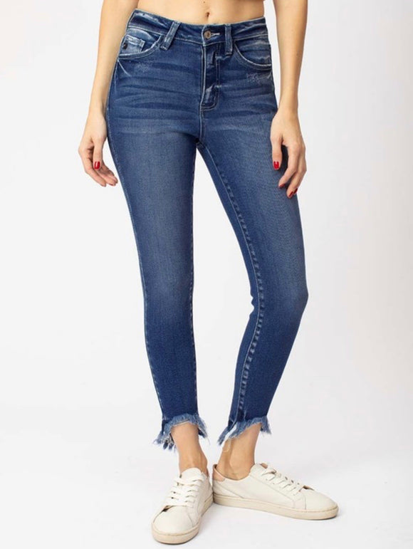 KanCan Jeans with Freyed bottoms