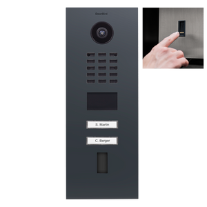 DoorBird IP Video Türstation D2102FV EKEY Komplettset