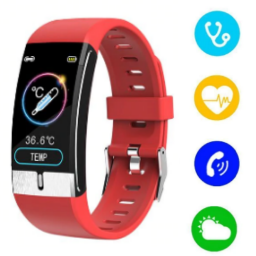 Fitness Tracker Blood Pressure Smart Watch and Heart Rate Monitor