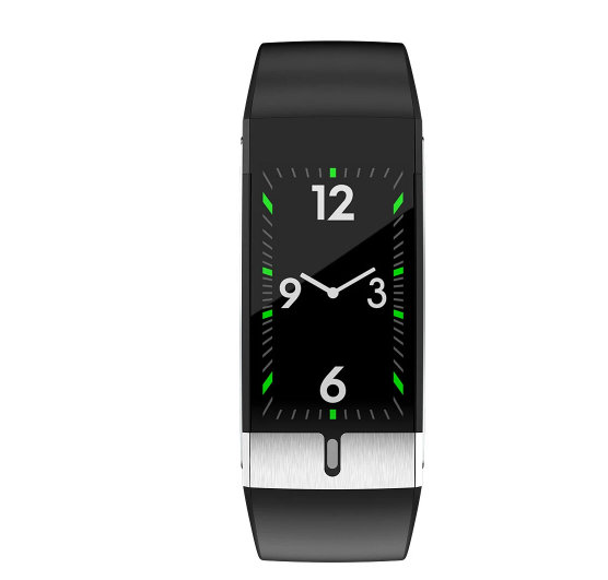 Black Fitness Tracker Smart Watch