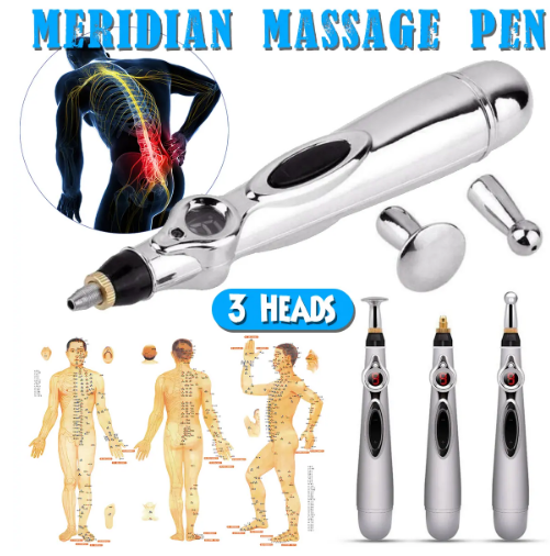 Meridian acupuncture pen