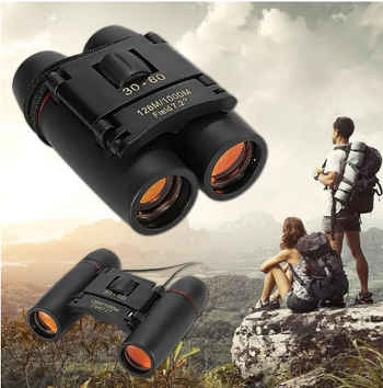 Binoculars Night Vision Small and Compact for Birding