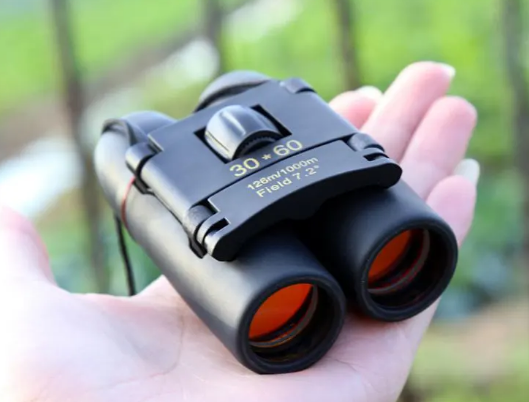 mini night vision folding binocular
