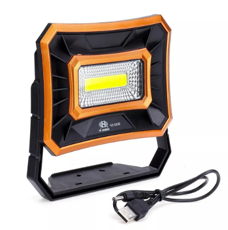 Outdoor Camping Emergency Solar Spotlight Orange