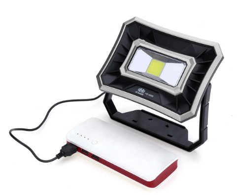 USB Work Light IP65 Waterproof Floodlight Spotlight