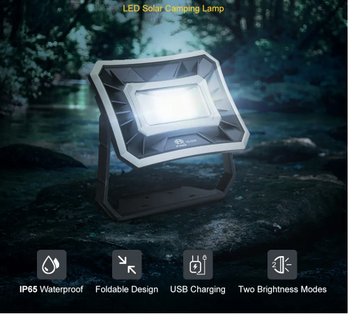 Led Outdoor and Camping Solar Lights