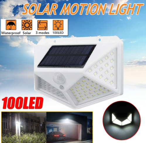 Best Solar Led Wall Light for Outdoor Garden Security Street Lamp
