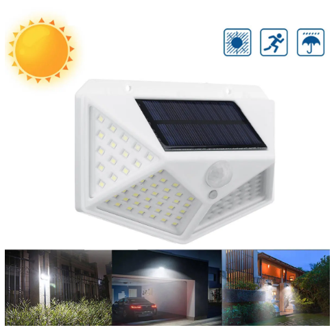 Solar Led Wall Light for Outdoor Garden Security Street Lamp