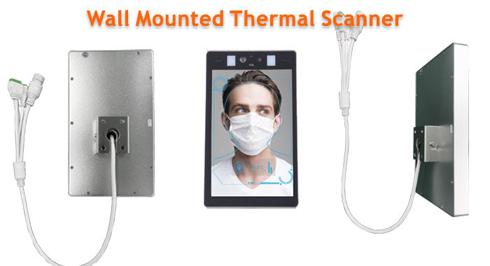 automatic body temperature scanner no touch