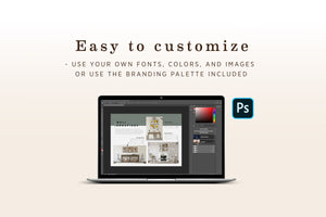 Product Guide PSD Template for Pet Photography