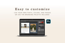 Load image into Gallery viewer, Session Preparation PSD Template for Pet Photography