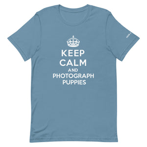 Keep Calm and Photograph Puppies T-Shirt