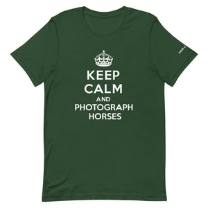 Keep Calm and Photograph Horses T-Shirt