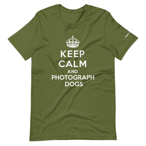 Keep Calm and Photograph Dogs T-Shirt