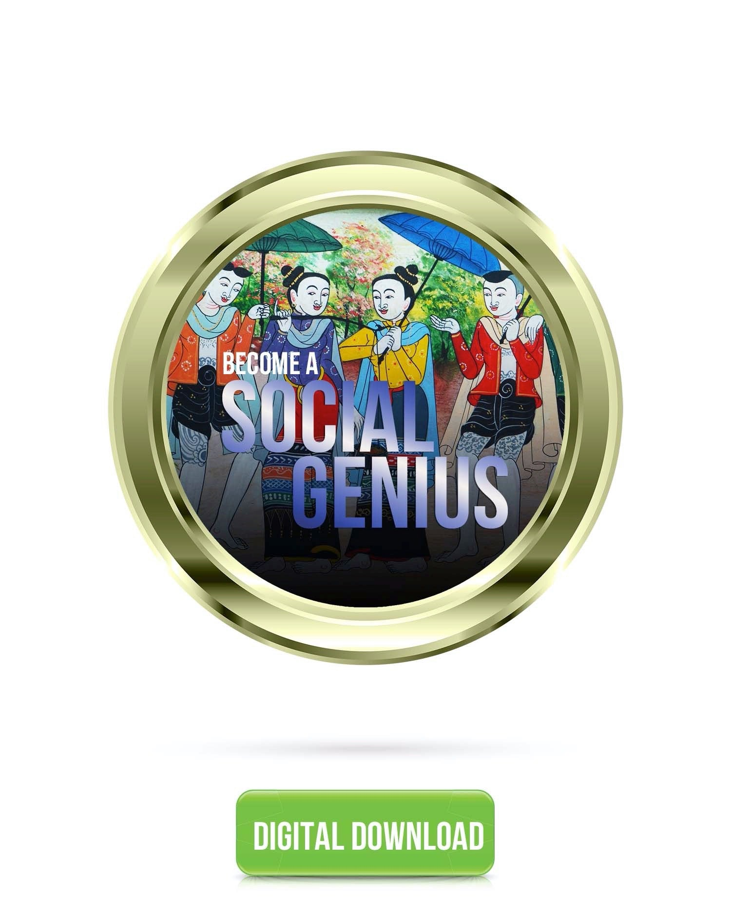 Become A Social Genius | Improve Your Social Skills Subliminal