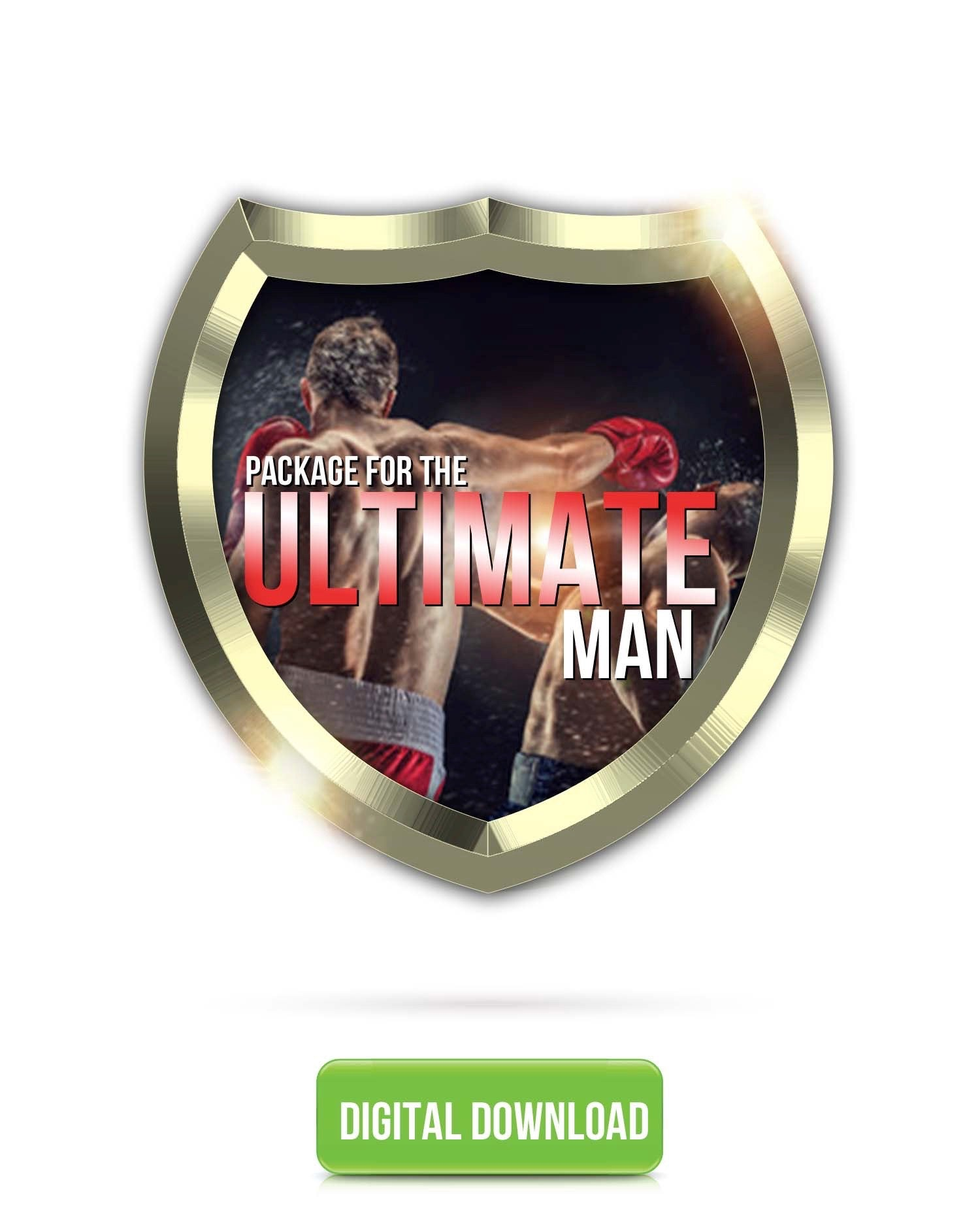 PACKAGE: The Ultimate Man Bundle | ZEUS, Divine Masculinity, Delusional Confidence
