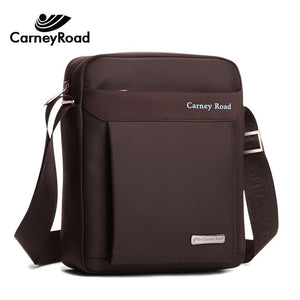 Carneyroad New Fashion Business Shoulder Bags For Men Waterproof Oxford Messenger Bags