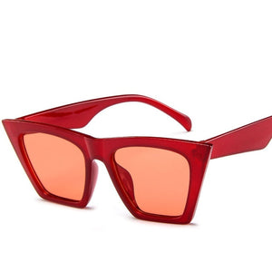 RBROVO Plastic Vintage Luxury Sunglasses Women Candy Color Lens Glasses Classic Retro Outdoor Travel Lentes De Sol Mujer