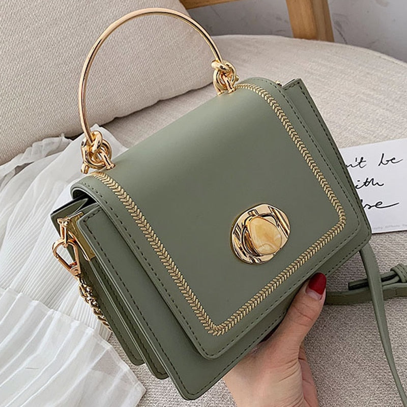 Gorgeous Leather Mini Crossbody Bags For Women Summer Messenger Shoulder Bag Female Travel Phone Purses and Handbags