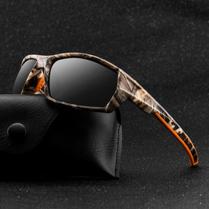 Fashion Polarized Sunglasses for Men Luxury Brand Designer Vintage Driving Sun Glasses Male Goggles Shadow UV400