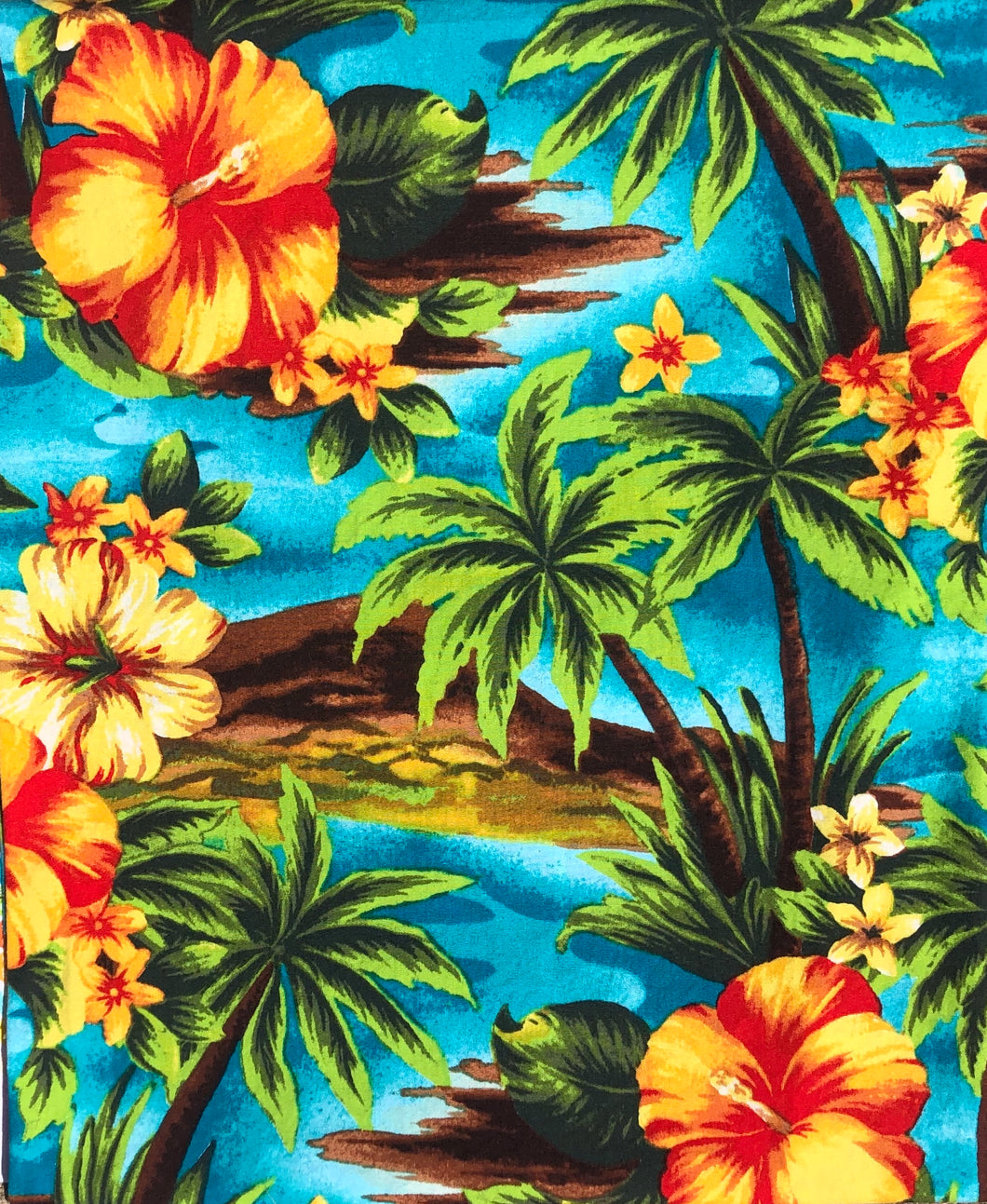 Hawaiian 100% cotton