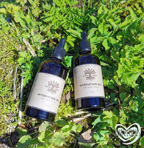 Raw Roots Organic Hydrating Oil