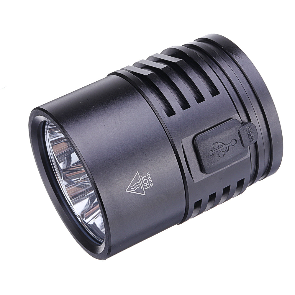 High Power Flashlight 5650LM Sofirn SP36 BLF Anduril 4x Sumsung LH351D 352m Waterproof Robust Tactical Outdoor LED Flashlight Flashlight