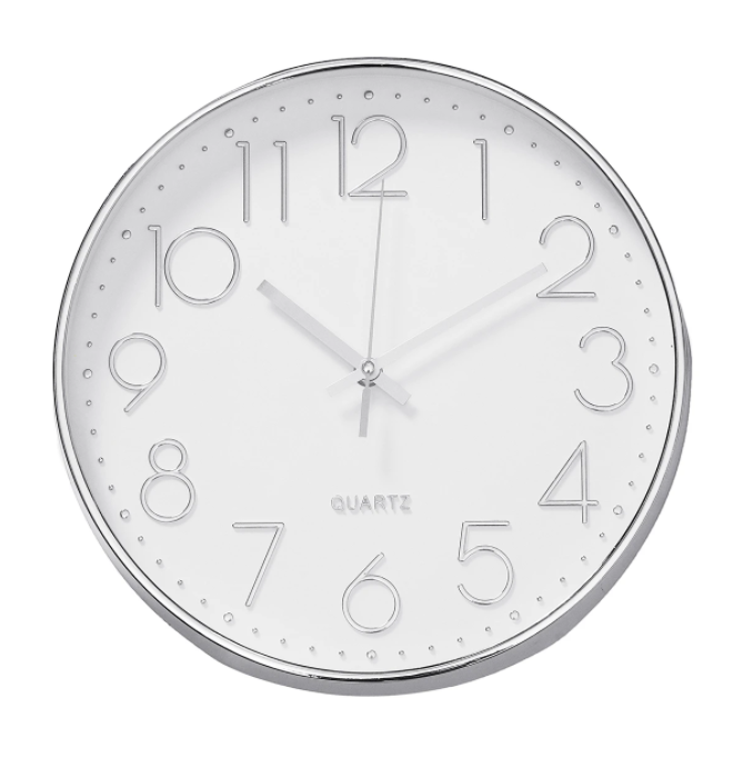 Ellaiin™ Classic Kitchen Wall Clock 12 Inch Silent Non-Ticking Quartz Clock