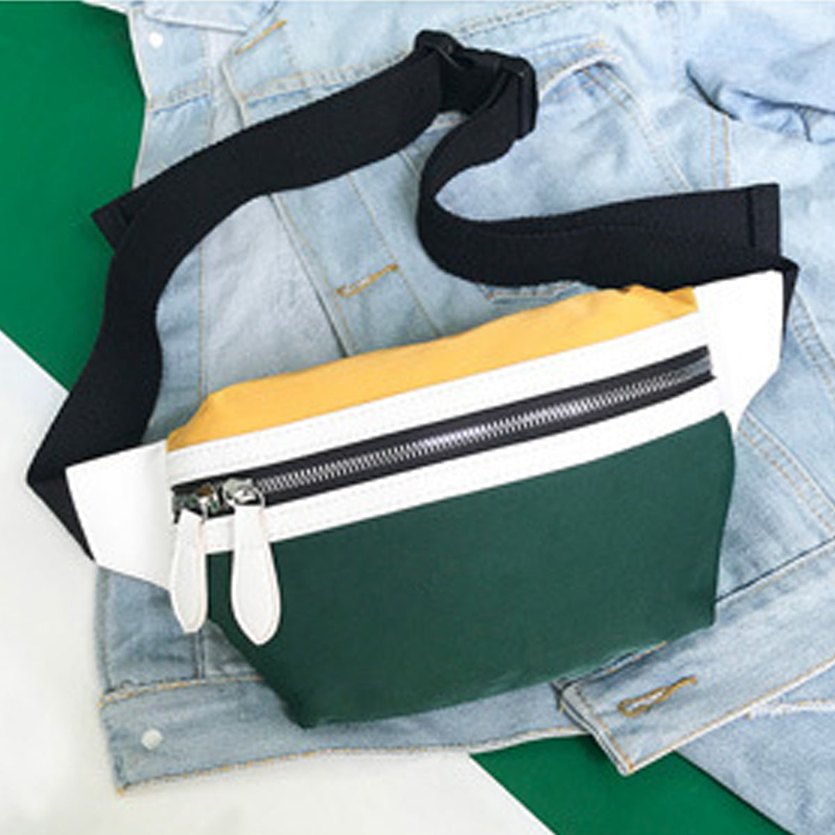 Ellaiin™ Fanny Pack for Women Canvas Waist Bag Phone Bag For Smart Phones