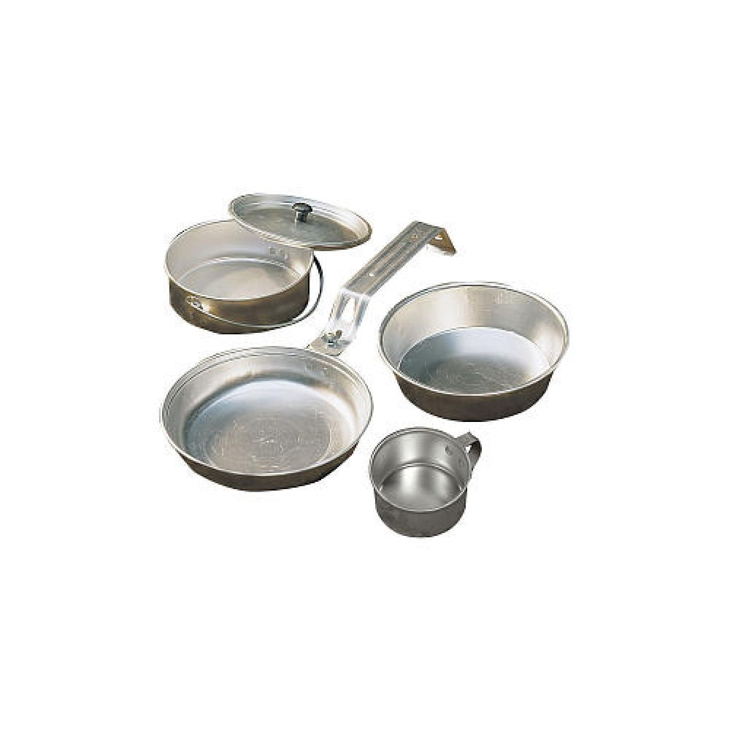 Outdoor Cooking Coleman Mess Kit Camping Cookware made from Aluminium
