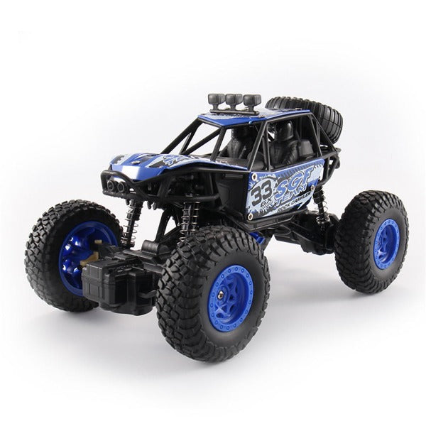1/18 Monster Truck Off-Road Truck 27MHZ 4WD RC Car Climbing Vehicle RTR Toy