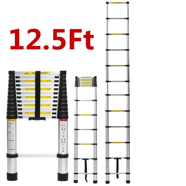 DIY'n'go™ 12 Ft. Extension Ladder Lightweight Aluminum 10-foot ladder or 12-foot ladder