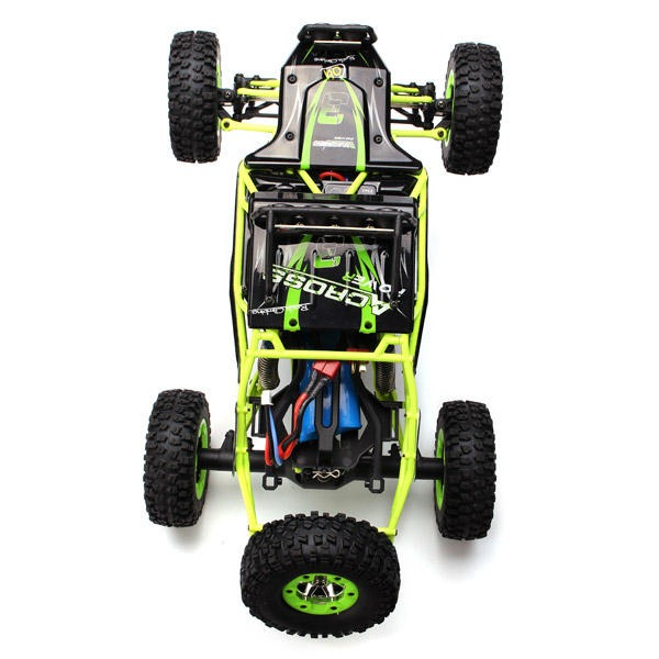 1/12 RC Monster Truck 4WD Crawler High-Speed 50 km/h RC Car With LED Light by WLtoys 12427 2.4G