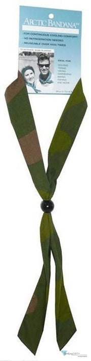 Arctic Bandana-Woodland Camo #2 Neck Cooling Ties