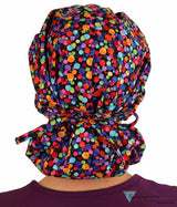 Banded Bouffant-Balls A Poppin Bouffant Surgical Scrub Caps