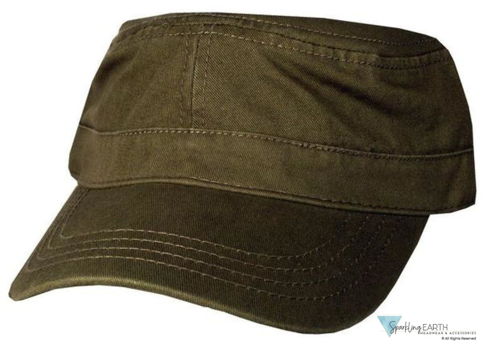 Cadet Cap-Olive Green Other