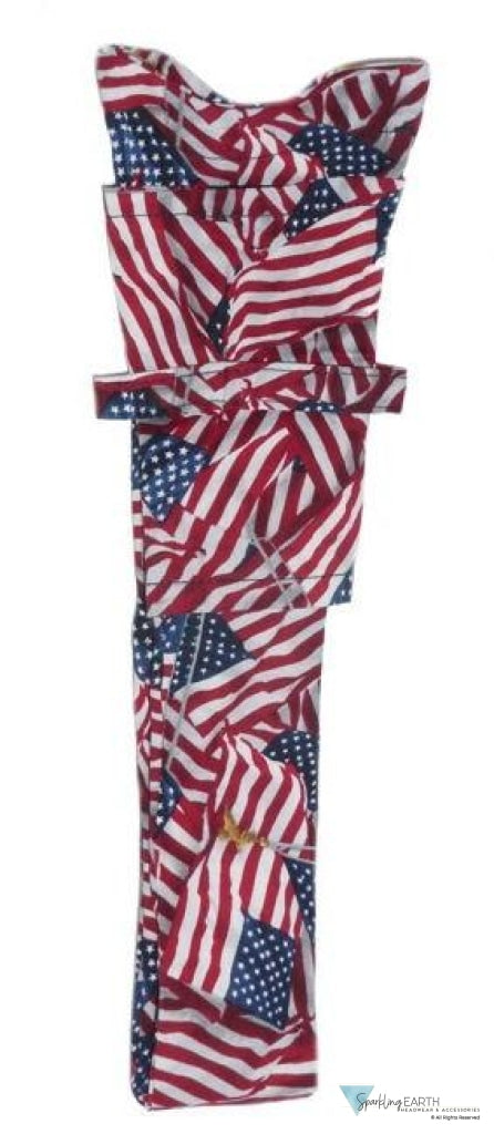Stethoscope Cover-Small Tossed Us Flag #2 Medical & Surgical