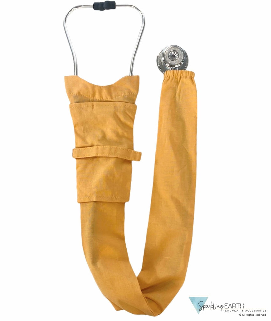 Stethoscope Cover - Solid Butterscotch Covers