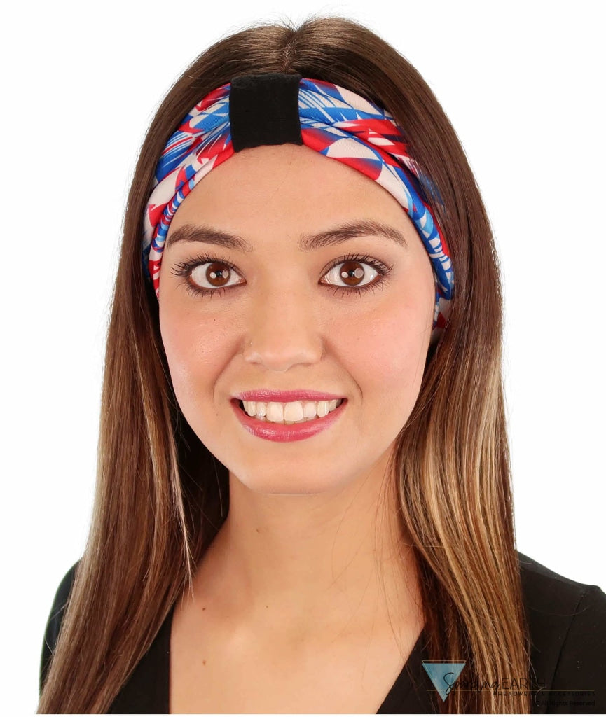 Stretch Headband - Fireworks Headbands