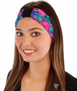 Stretch Headband - Hawaiian Flowers Headbands