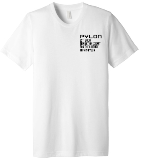 "Pylon UltraSoft Tee-""This Is Pylon"""