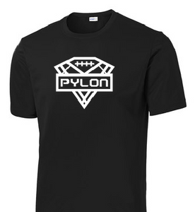 Pylon Performance Tee - Oversized Logo - Adult & Youth