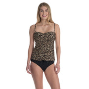 Animal Magic Flutter Tankini Top