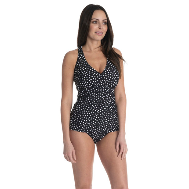 Pebble Dot D/DD H-Back Tankini