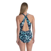 Tie Dye Twin Wrap One Piece