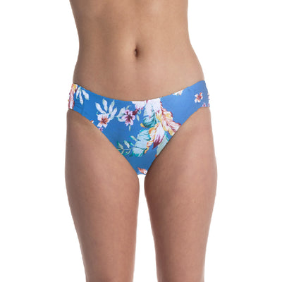 Beach Botanical Side Shirred Bottom
