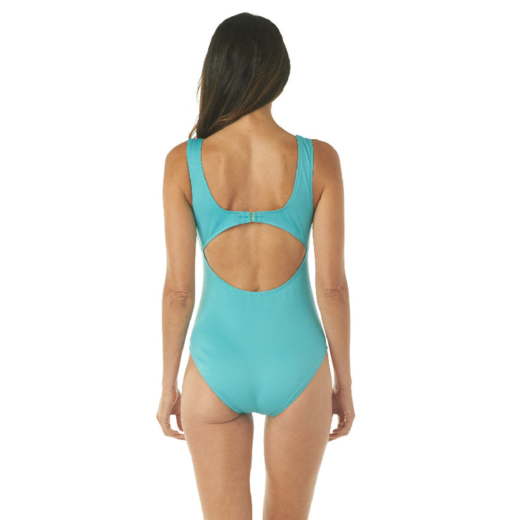 SMOOTHIN' & GROOVIN' U-NECK ONE PIECE